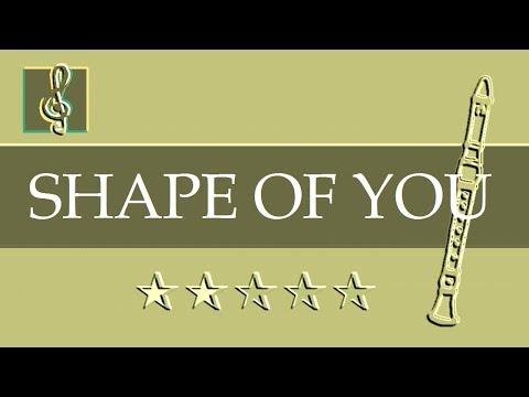 Recorder & Guitar Duet - Shape Of You - Ed Sheeran (Sheet music - Guitar chords)
