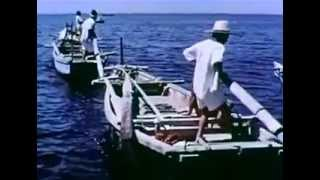 1963年の米国製作ドキュメンタリーでしょうか。当時はまだ木製の伝...