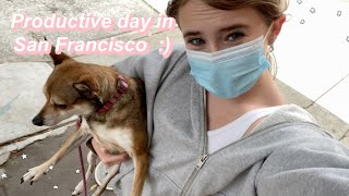 a productive day in the life in San Francisco! (grwm)   Ella Katherine