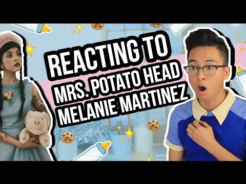 Reacting to Mrs. Potato Head by Melanie Martinez (Music Video)