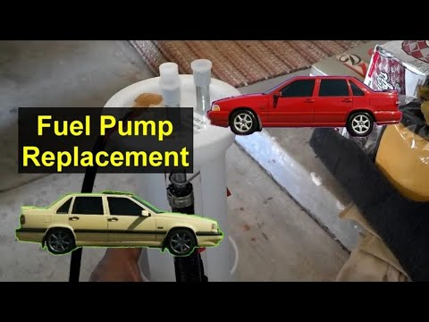 How to replace the fuel pump on your front wheel drive Volvo 850, S70, and V70 cars. – REMIX