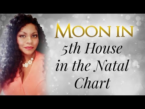 the of natal Moon in house Chart 12th