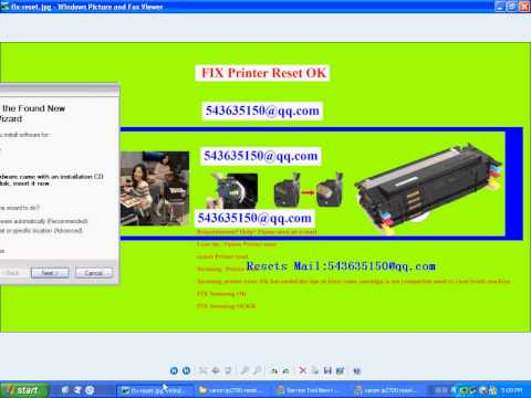 canon IP2700 reset Waste ink 5B00 reset IP7250\IP7260\IP7270\IP7280