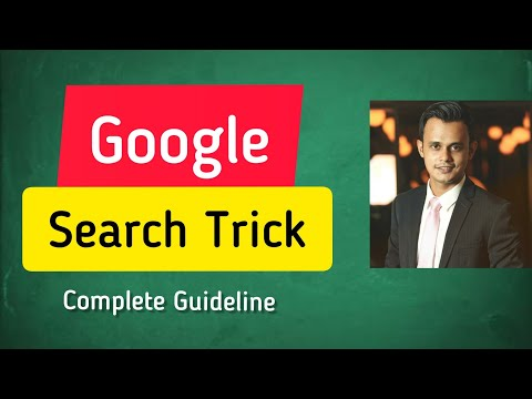 Google advanced Search Tricks & Techniques You Must Know for Affiliate Marketing | Bangla Tutorial