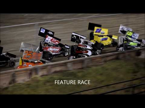 RIVERSIDE INT SPEEDWAY 600 MINI SPRINTS 10 22 16