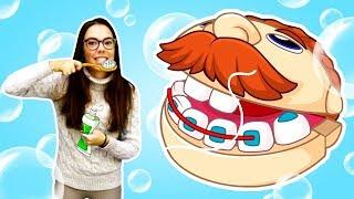 Download Чистим зубы - Песенки для детей - Сборник детских песен Mp3 and Videos