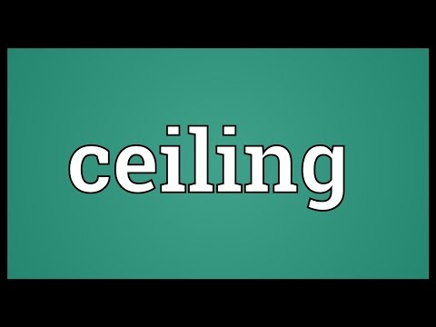 ceiling-meaning