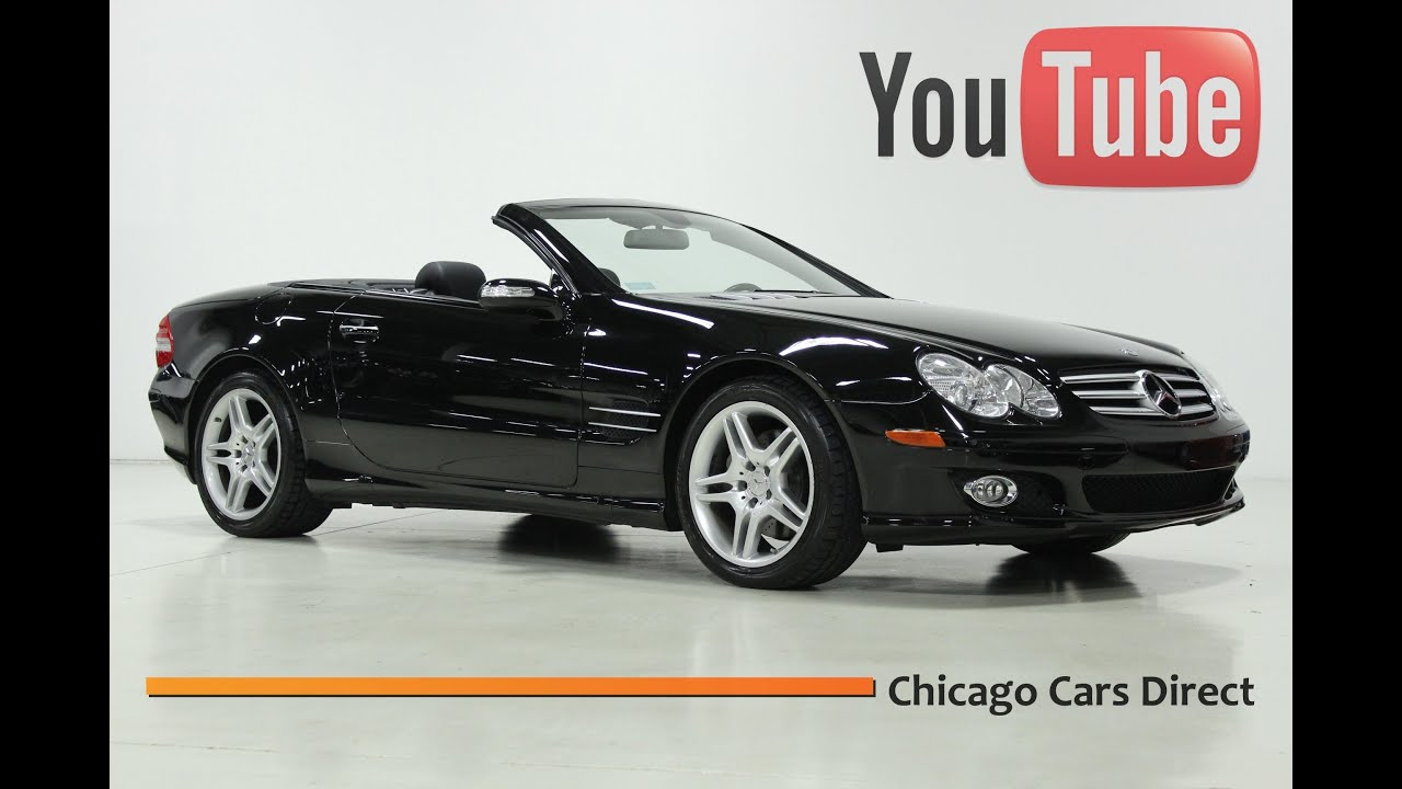 Chicago Cars Direct >> Chicago Cars Direct Presents a 2007 Mercedes-Benz SL550 ...