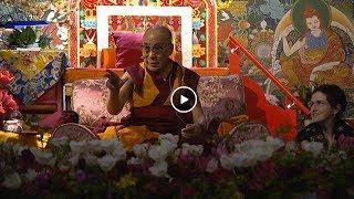 Вопрос Мариса Дрешманиса Далай-ламе о реинкарнации | Рига 2014