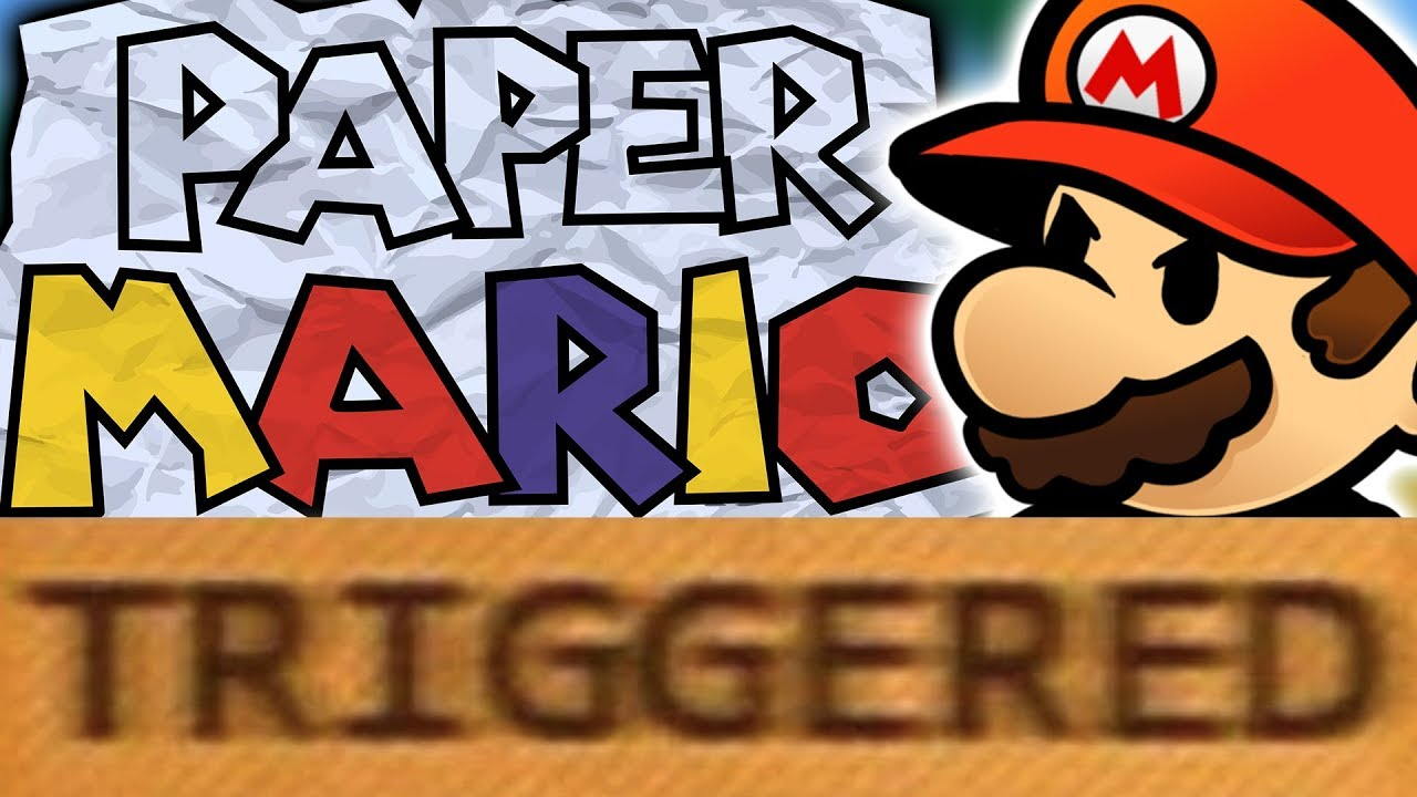 How Paper Mario TRIGGERS You! (Ft. Stryder7x)