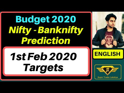 Budget 2020 Prediction And Nifty Banknifty Trading Targets II STL English II