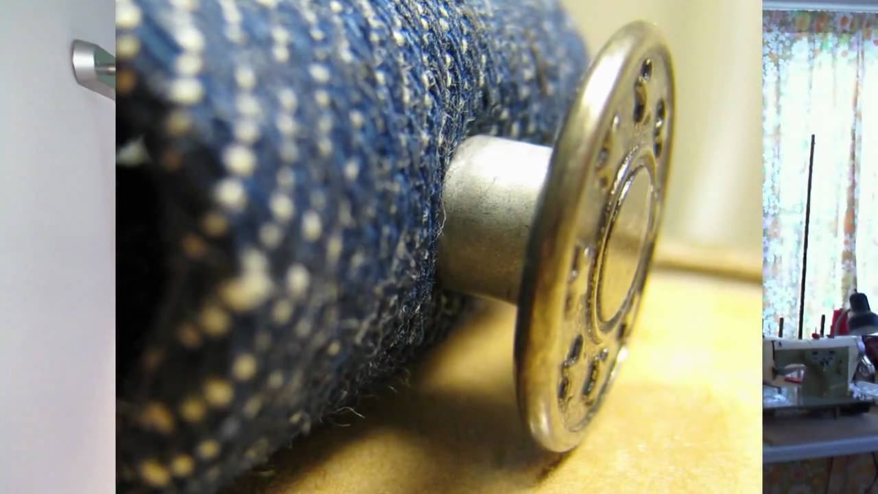 how to remove rivet buttons