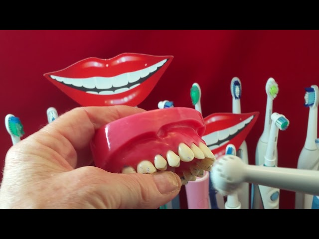 How to use electric/powered toothbrushes