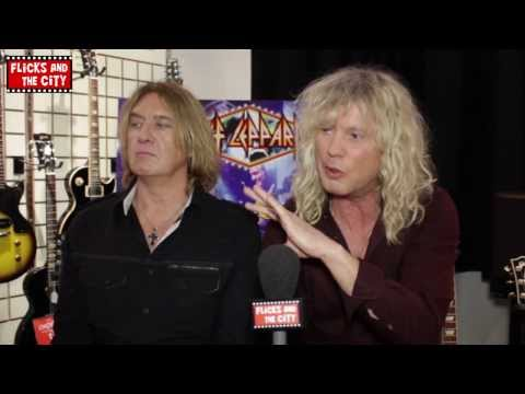 Def Leppard Viva! Hysteria Interview - Joe Elliott & Rick Savage