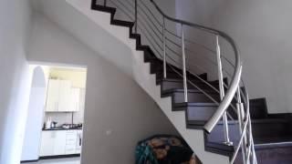 Заречаны ограждения из нержавейки винтовой лестницы(, 2013-12-23T09:15:15.000Z)