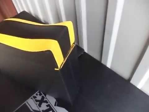 Смотреть онлайн Подлокотник ВАЗ 2101 - 2106 Люкс с вышивкой желтый