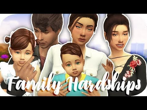 FAMILY HARDSHIPS // THE SIMS 4 | PART 1 - TEENAGE PREGNANCY?