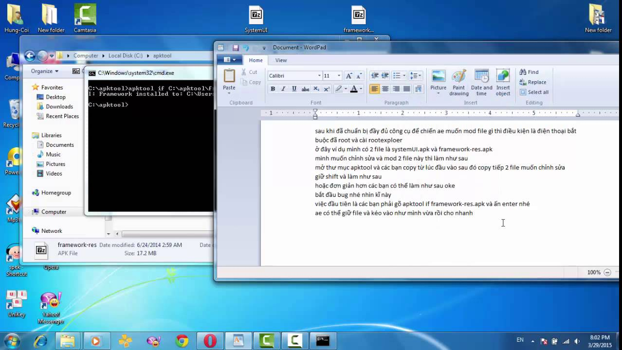 How To Decompile and Recompile, apktool v1 5 2 by Ayy` Arya