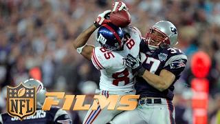 Top 10 Super Bowl Plays: #1 David Tyree's Helmet Catch | NFL