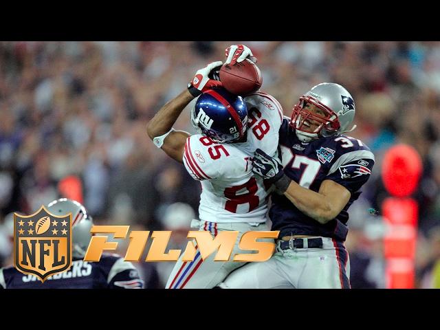 #1 David Tyree's Helmet Catch | NFL | Top 10 Super Bowl Plays