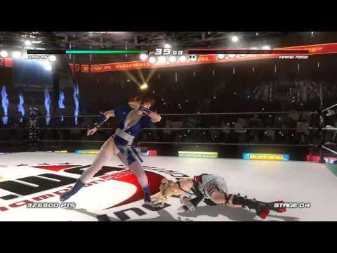เกมส์ต่อสู้ Dead or Alive 5 Last Round Kasumi ตัดต่อผสมครับ :))