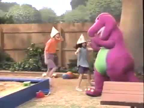 Barney Comes To Life Barney 39 S Magical Musical Adventure Clip Youtube
