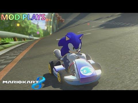 Mod Plays: Mario Kart 8 (Wii-U) - Sonic the Hedgehog