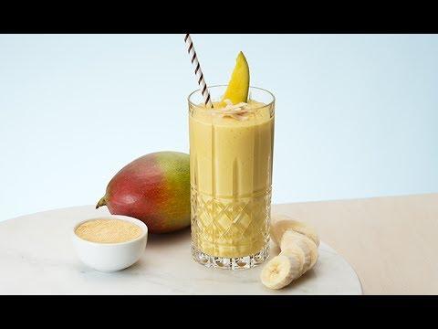Recipe of Oriflames Banana Mango Smoothie | Oriflame Cosmetics