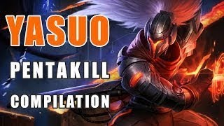 YASUO Pentakill Montage 2019 | League Of Legends |