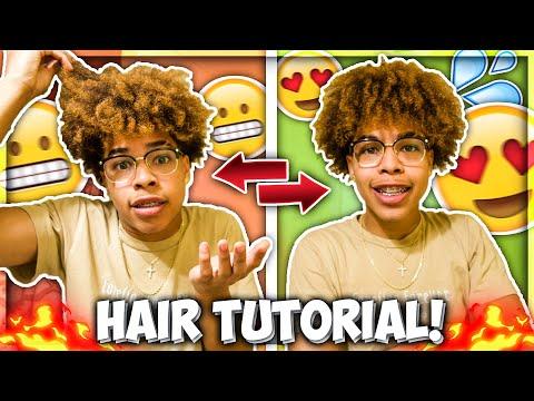 My Curly Hair Tutorial!!😍🔥