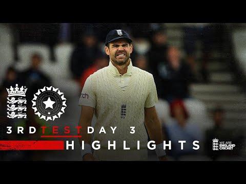 Pujara 91* Frustrates England | England v India - Day 3 Highlights | 1st LV= Insurance Test 2021