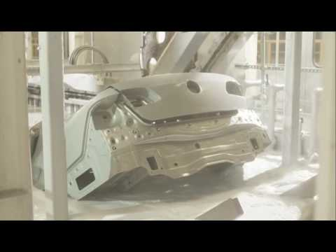 Volkswagen production at the Zwickau plant in Saxony, Germany
