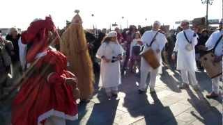 Venetian samba, Carnival of Venice 2012, Venice, Veneto, Italy, Europe