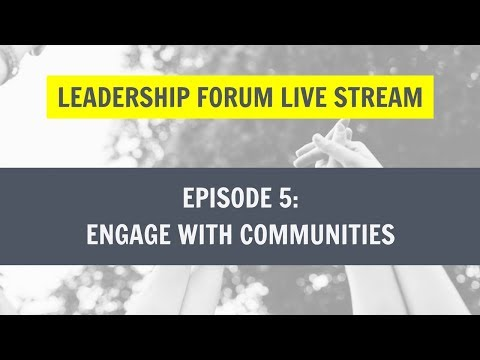 Leadership Habits: Engaging with Communities