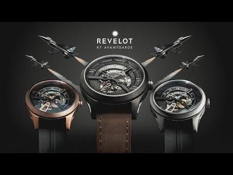 R7 Avantgarde Automatic | Retro-futuristic Inspired Automatic Watch Under $250.