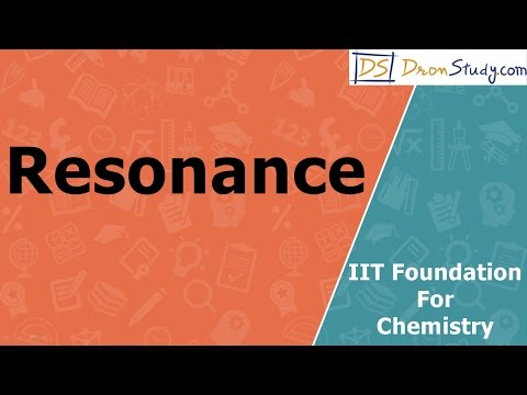 Concept of Resonance for IIT Foundation Basic Chemistry Video Lecture in Hindi