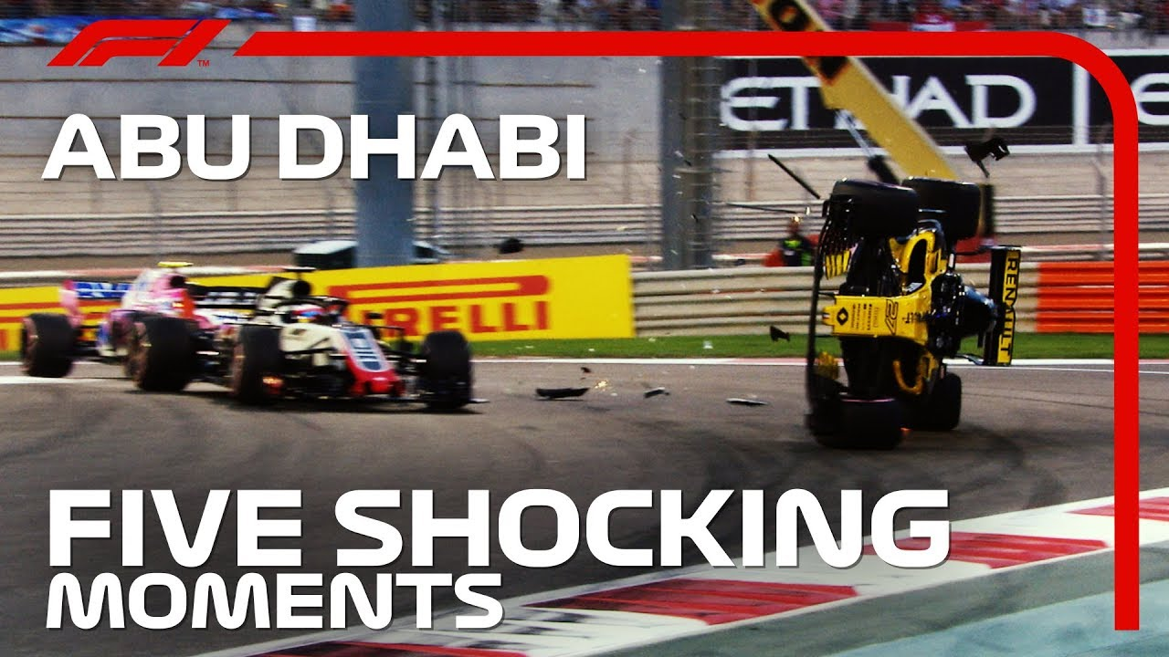 Five Shocking Moments From the Abu Dhabi Grand Prix
