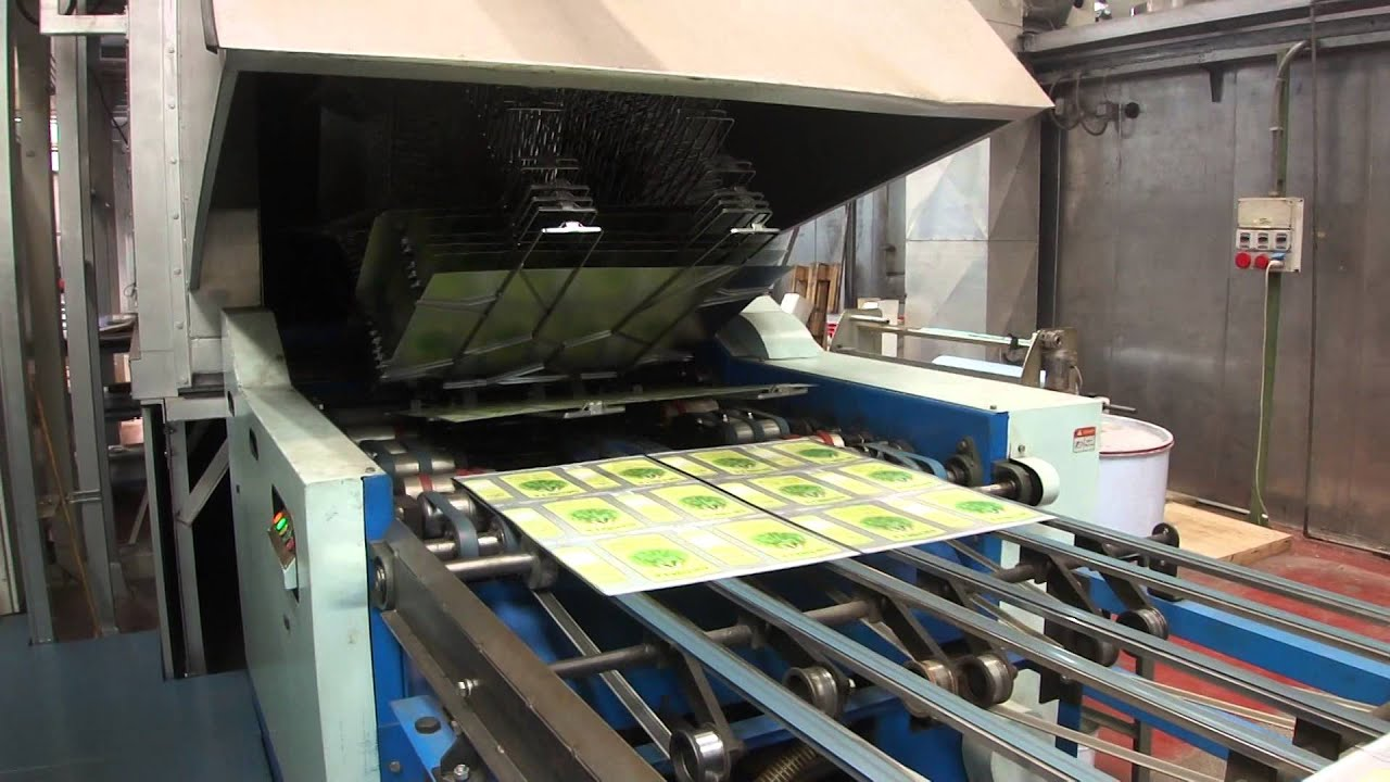 kba 5 color metal printing line with uv youtube