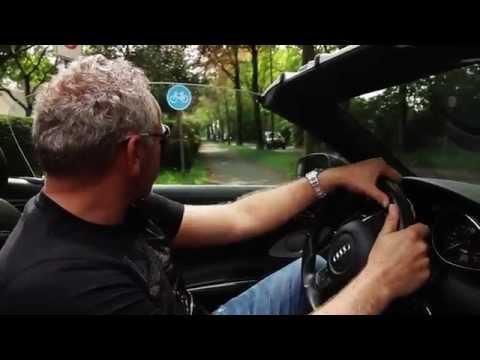 Goorput: Ritje met Gordon in een Audi R8