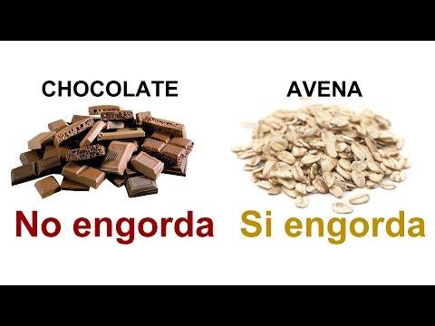 Coman más chocolate y menos avena (5 razones)