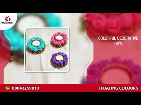 Acrylic Rangoli And Decorative Diya Manufacturer