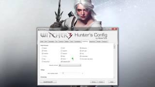Witcher 3 Hunters Config Настройка графики на слабых и мощных ПК софт и технологии Ведьмак 3!