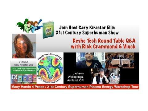 Keshe Tech Round Table Q&A w/ Rick Crammond - Ashland, OR - Plasma Energy Workshop Tour