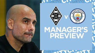 ILKAY AND PEP'S PRESS CONFERENCE | BORUSSIA MÖNCHENGLADBACH V MAN CITY | UCL