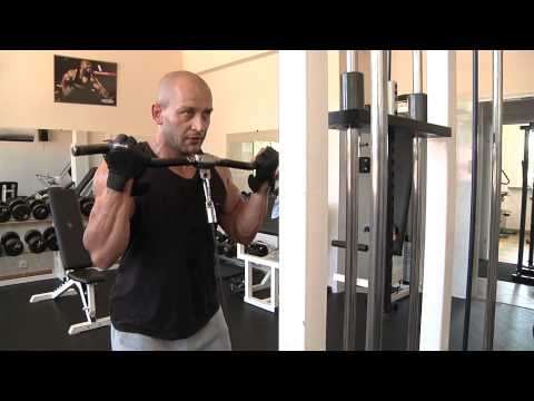 Trening z mistrzem  Arkadiusz Misiak   biceps tv Kanał S Lubartów
