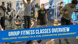Precision Athletics - Group Fitness Classes Overview