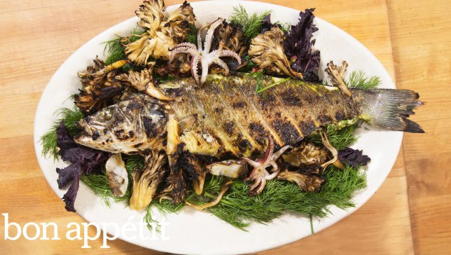 Charcoal Grilled Seafood You Won't Believe | Kitchen Lab