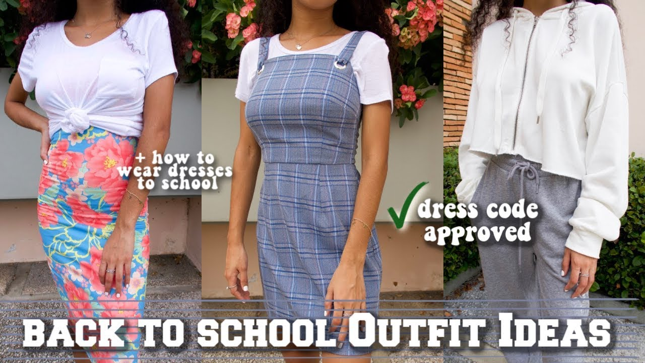 Back To School Outfit Ideas 2019 *that actually fit dress code* 7