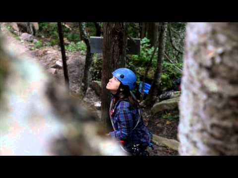 Rock Climbing McQuirks Mountain St. George - CBC New Brunswick