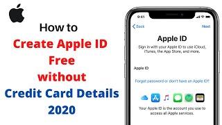 How To Create Apple ID.Create New Apple id For iPhone,iPad Free 2020.